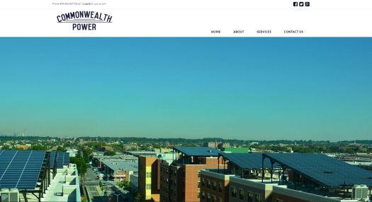 Web design by Commonwealth Creative - Commonwealth Power llc -Richmond Virginia